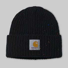 Black Heather Anglistic Beanie by Carhartt
