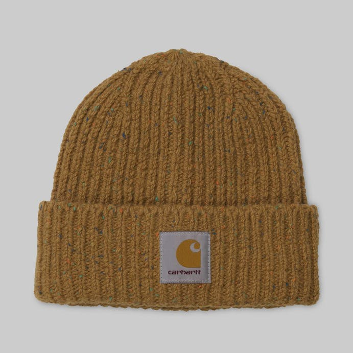 anglistic-beanie-fawn-heather-2066 by carhartt