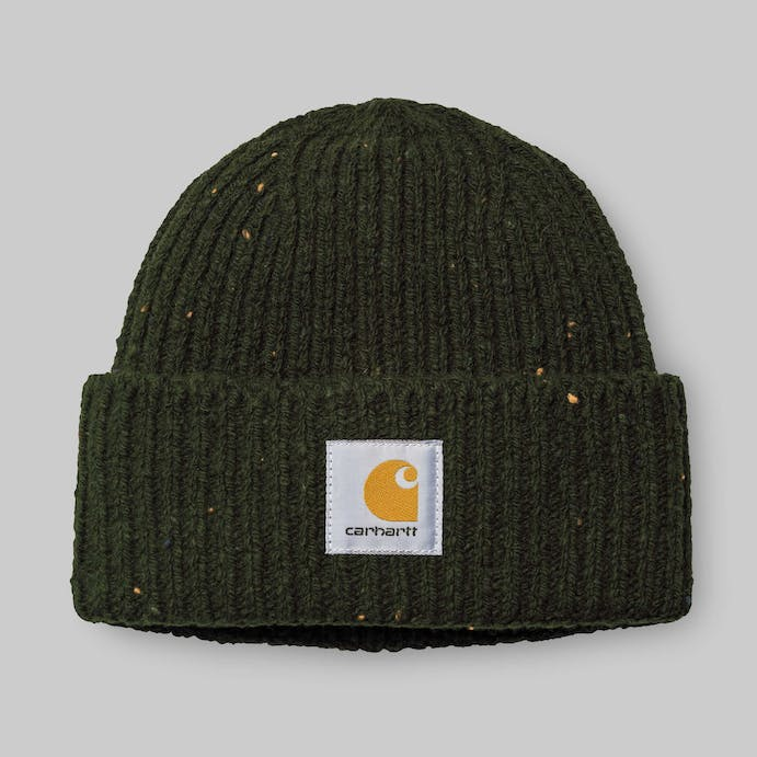 anglistic-beanie-loden-heather-2066 by carhartt