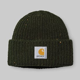 Loden Green Heather Anglistic Beanie by Carhartt