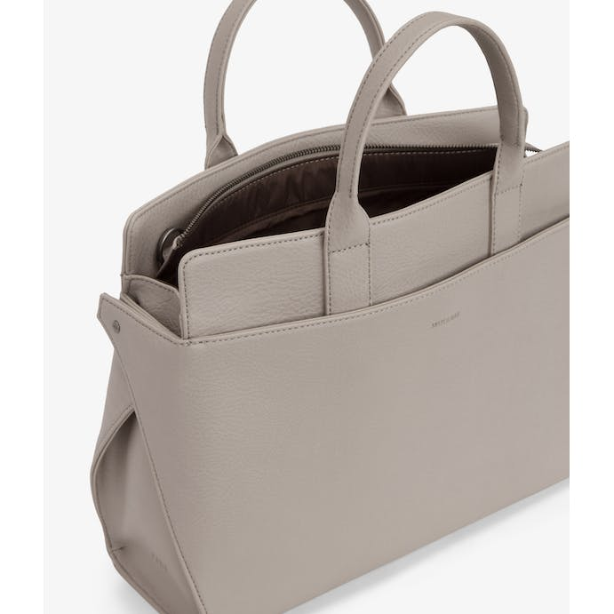 Gloria satchel bag in Cement by Matt & Nat