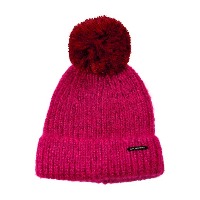 Galen Hat in Vivacious Pink by Numph