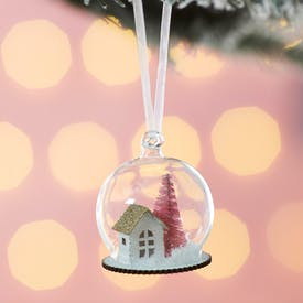 House in Dome Hanging Decoration