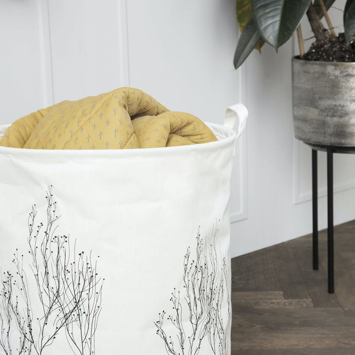 Woodland Print Laundry Bag by House Doctor