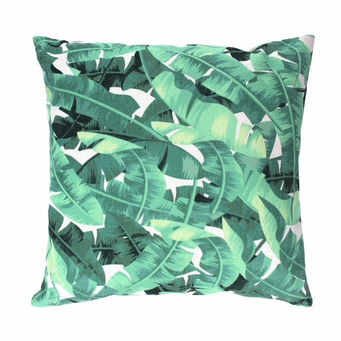 Gisela Graham banana leaves cushion