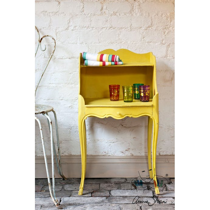 English Yellow Chalk Paint by Annie Sloan - 120ml Project Pot