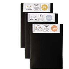 Metal Loose Leaf Booklets by Annie Sloan