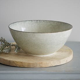 Nordic Sand Salad Bowl by Broste