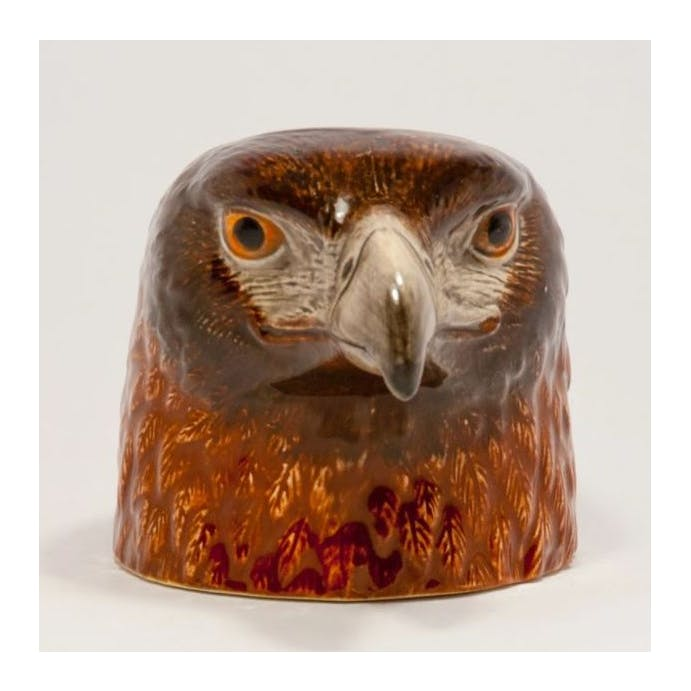 Hand Painted Eagle Egg Cup by Quail