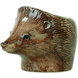 Hand Painted Hedgehog Egg Cup by Quail