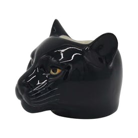 Hand Painted Panther Egg Cup by Quail
