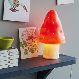 Toadstool Lamp
