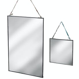 Zinc Framed Mirrors