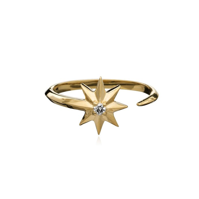 Rockstar Gold Ring by Rachel Jackson