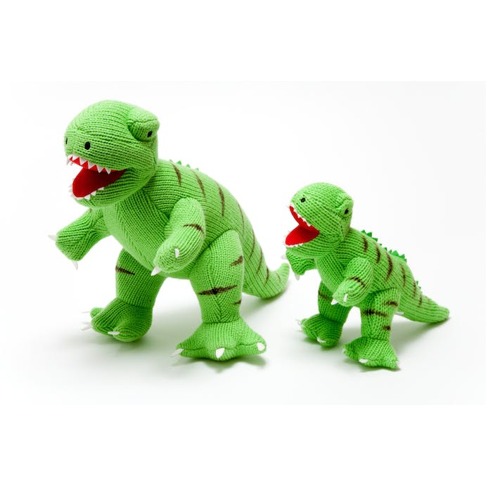T-Rex Knitted Toy
